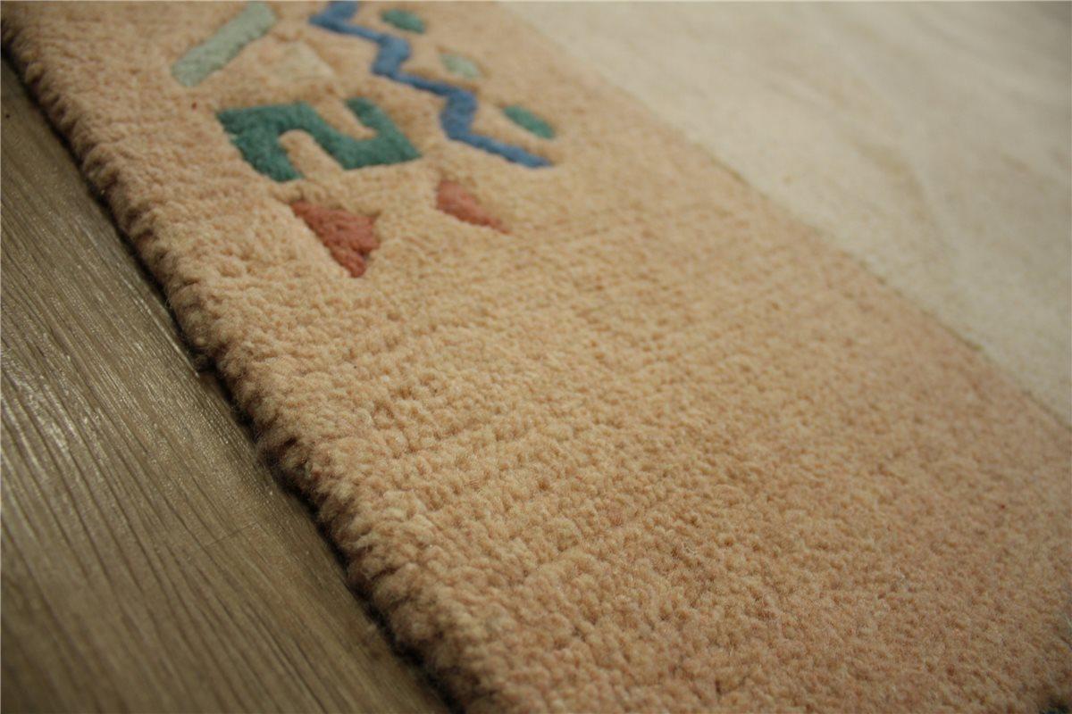 Teppich Nepal Handgeknüpft 250×350 cm 100% Wolle beigetöne