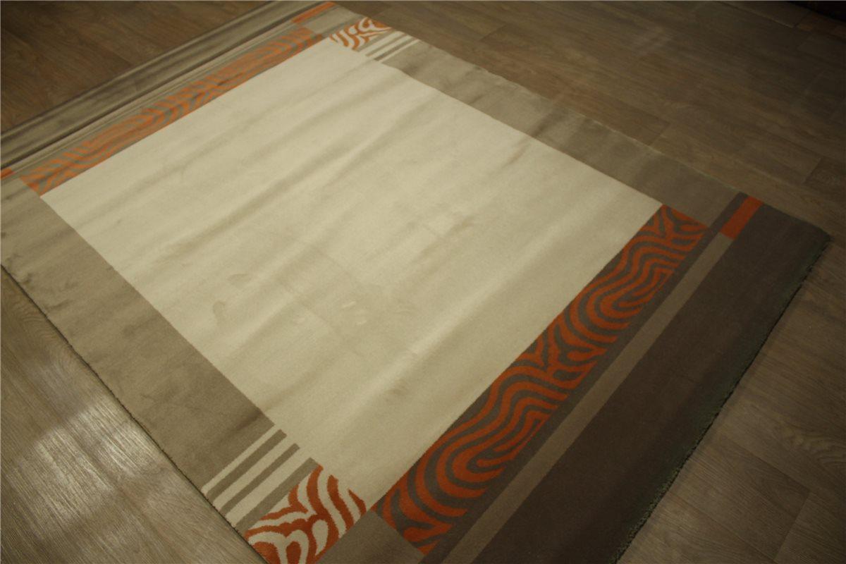 Teppich Ignis fein Velour soft 170×240 cm beige braun