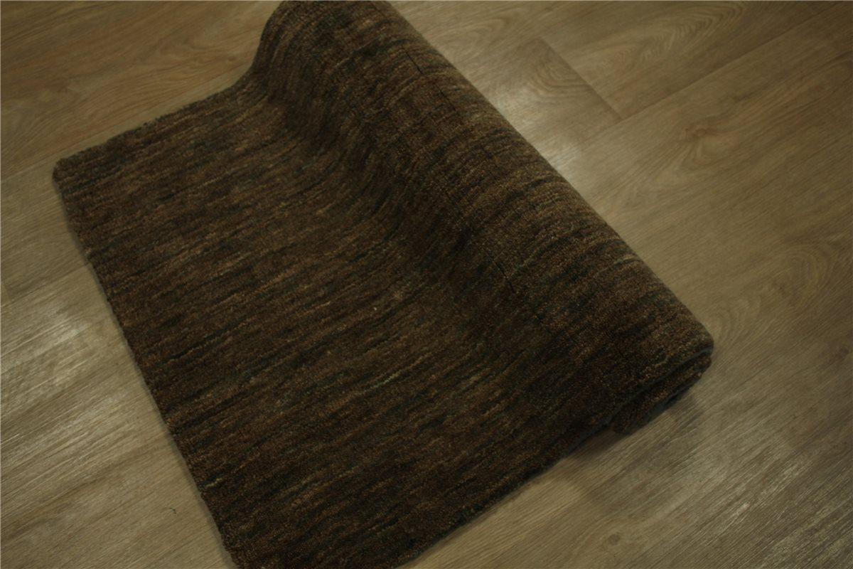 Teppich Gabbeh Brücke 70×140 cm 100% Wolle Handgewebt