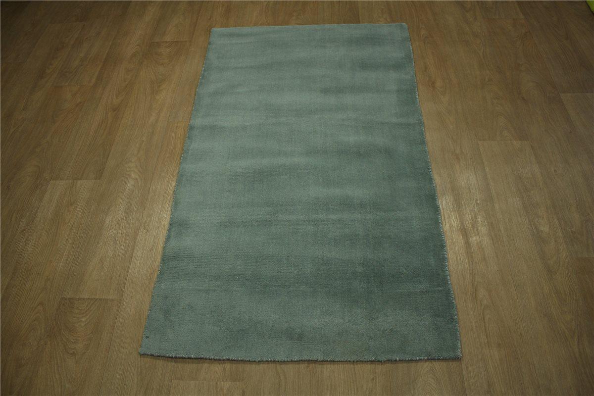 Teppich Gabbeh fein Brücke Läufer 90×160 cm 100% Wolle