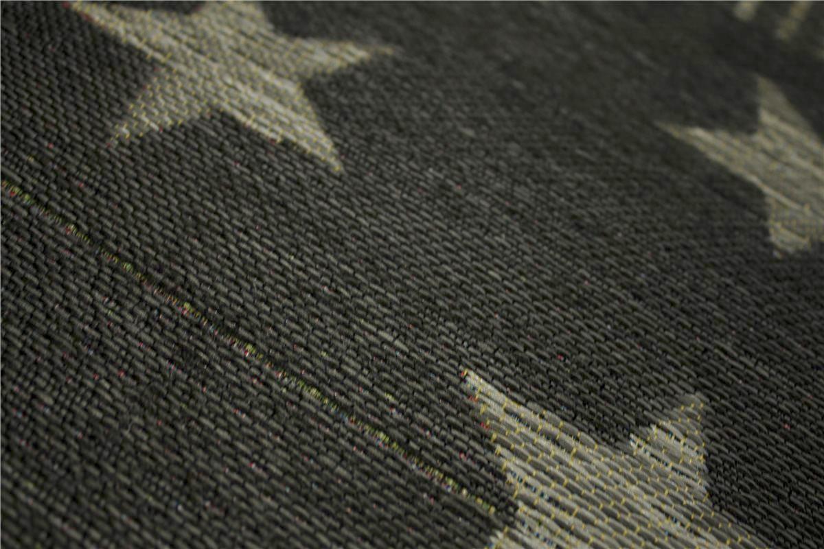 designer Teppich Flachgewebe 160×230 cm grau Anthrazit B
