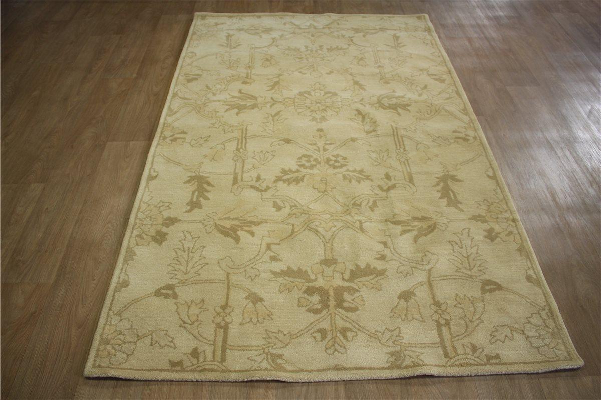 teppich orient schurwolle 150x240 cm 100 wolle handarbeit beige ebay. Black Bedroom Furniture Sets. Home Design Ideas
