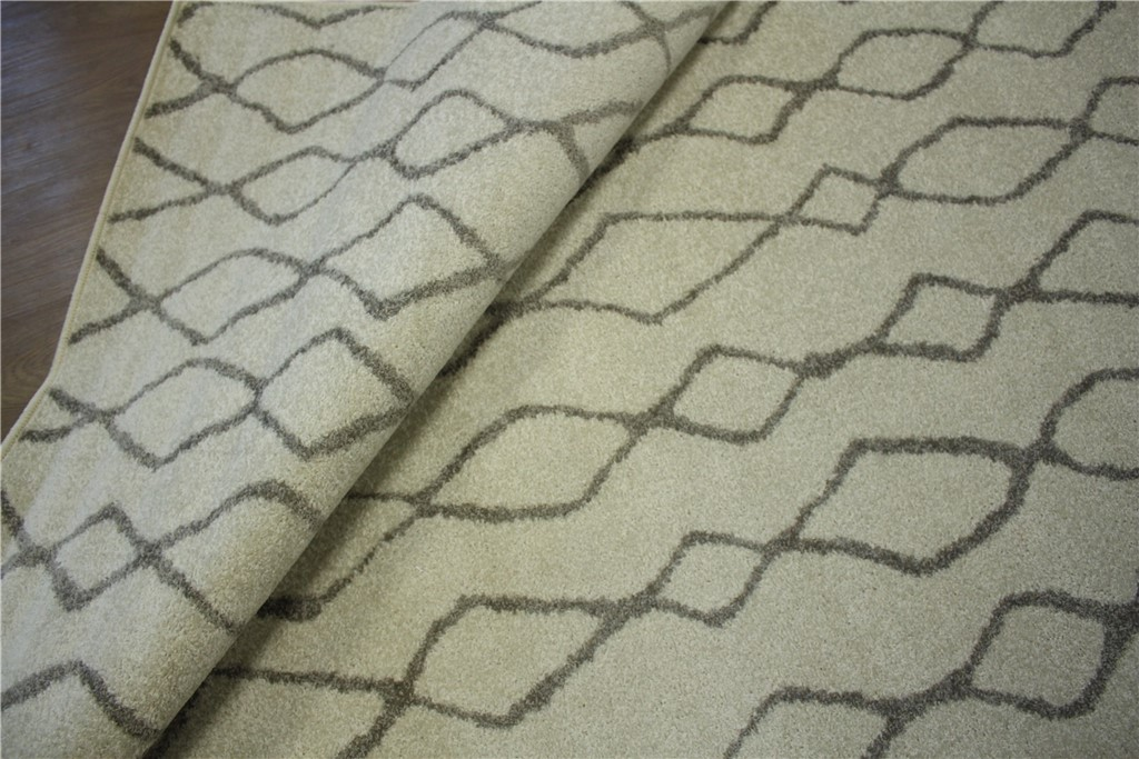 designer teppich berber optik velour 160x230 cm braun wollwei ebay. Black Bedroom Furniture Sets. Home Design Ideas