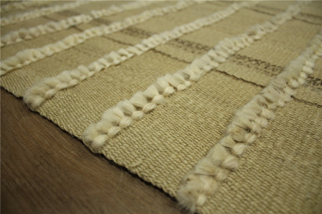 hochwertiger teppich kelim 130x245 cm 100 wolle handgewebt beige ebay. Black Bedroom Furniture Sets. Home Design Ideas