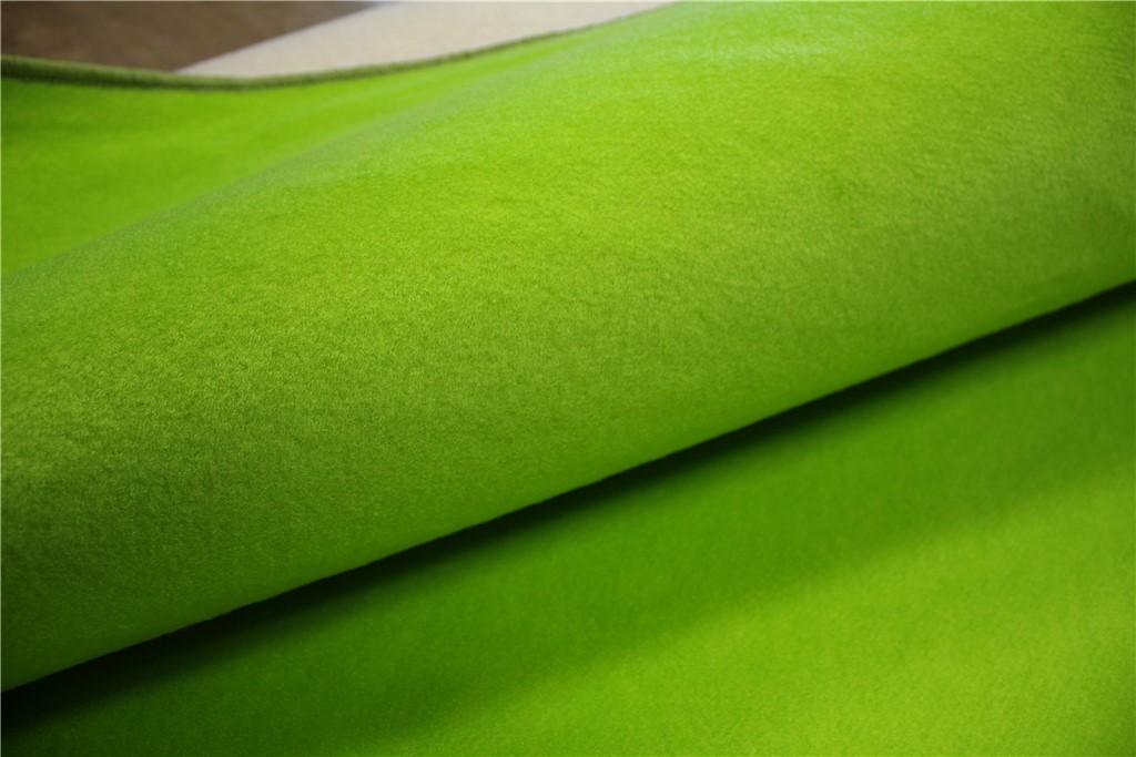 teppich velour fein flachgewebe 160x240 cm neon gr n ebay. Black Bedroom Furniture Sets. Home Design Ideas