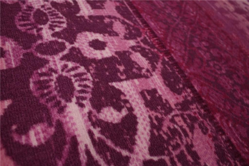 designer teppich velour flachgewebe patchwork 160x230 cm violett lila magenta ebay. Black Bedroom Furniture Sets. Home Design Ideas