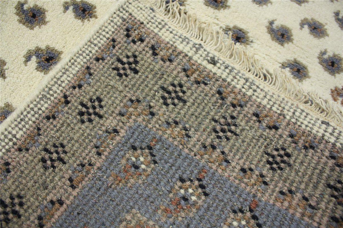 teppich orient indo mir 170x223 cm handgekn pft 100 wolle creme ebay. Black Bedroom Furniture Sets. Home Design Ideas