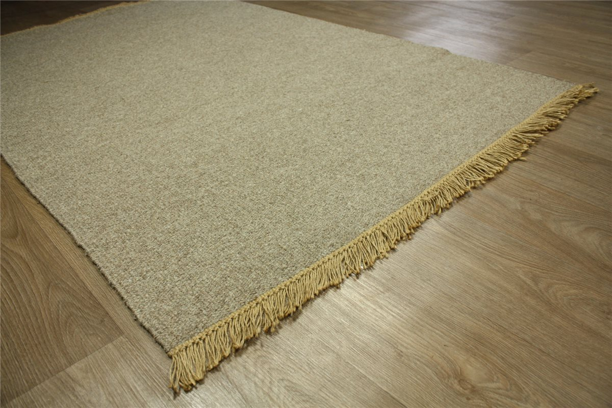 ~ Teppich Kelim Durry ~ 140×200 cm 100 % Wolle Handgewebt