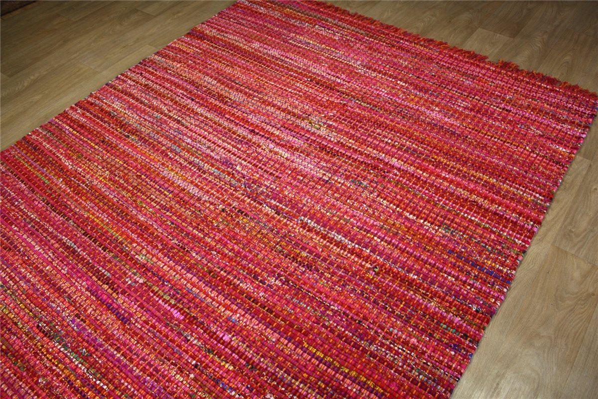 hochwertiger teppich kelim flachgewebe 160x230 cm handarbeit pink rot ebay. Black Bedroom Furniture Sets. Home Design Ideas