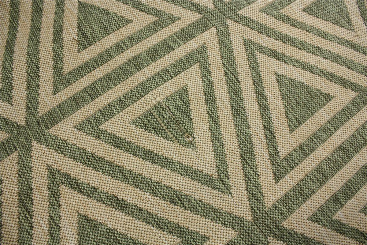 ~ Moderne designer Teppich Flachgewebe Sisal Optik