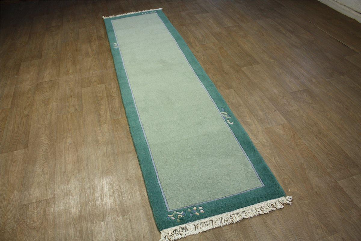 teppich nepal l ufer handgekn pft 75x295 cm 100 wolle. Black Bedroom Furniture Sets. Home Design Ideas