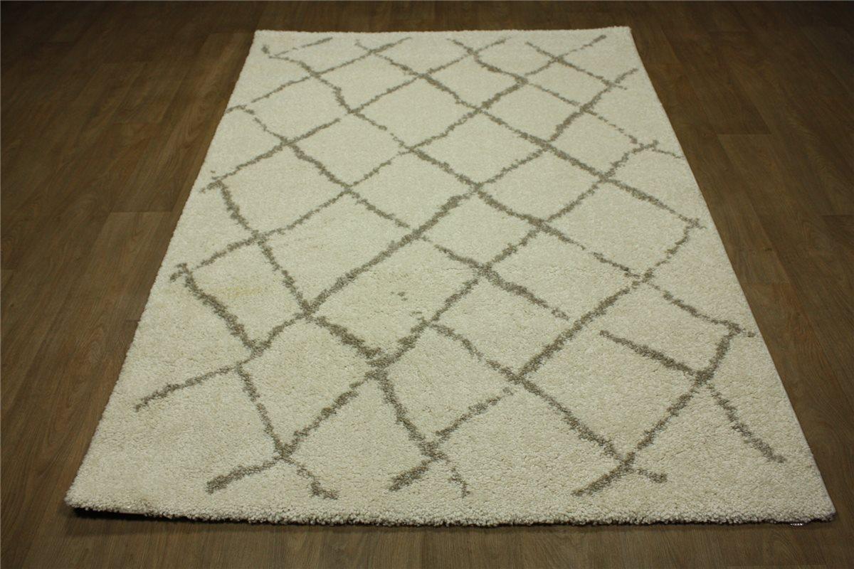 designer teppich berber optik velour 160x230 cm beige hell. Black Bedroom Furniture Sets. Home Design Ideas