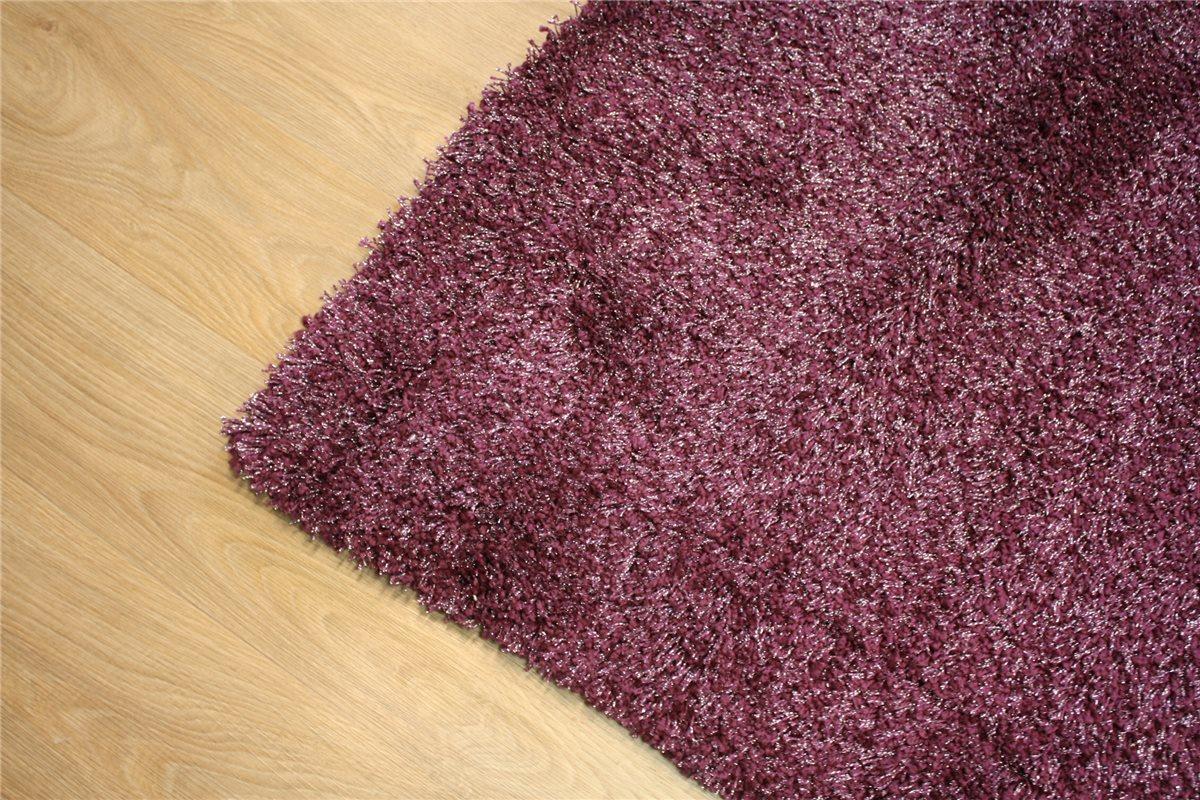 ~ Hochwertiger Teppich Shaggy Glamour ~ 200×290 cm