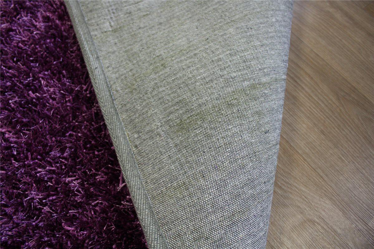 Teppich Shaggy langflor 140×200 cm 4 kgm² Lila violett  eBay