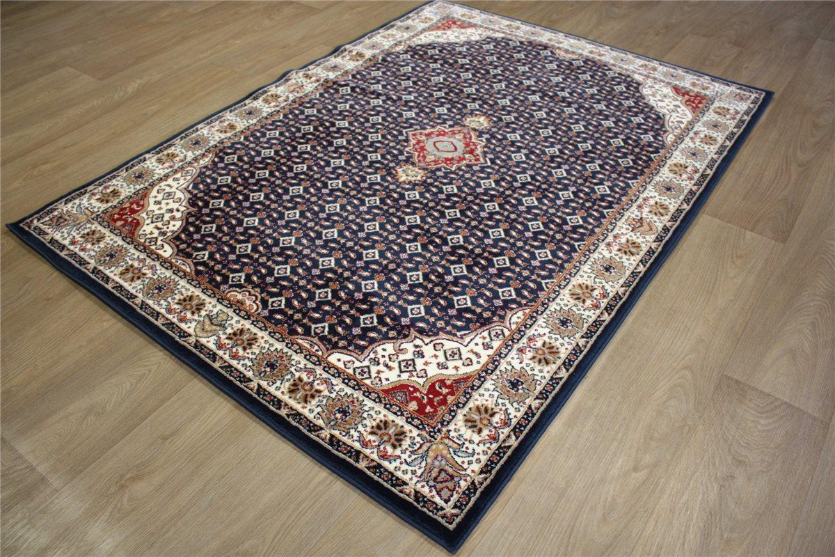 ~ Teppich Orient Perser Muster Gute Verarbeitung ~ 130×180