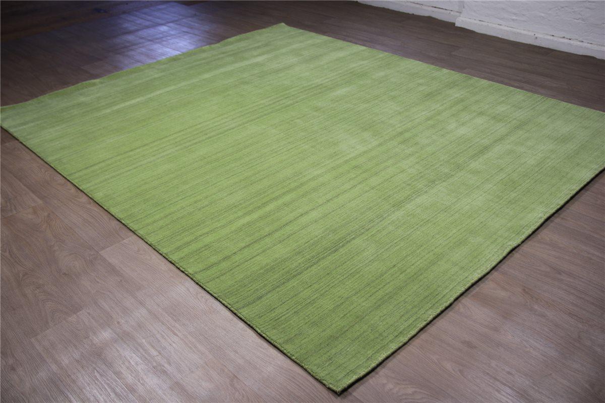 hochwertiger teppich gabbeh loribaft fein 170x240 cm 100 wolle gr n ebay. Black Bedroom Furniture Sets. Home Design Ideas