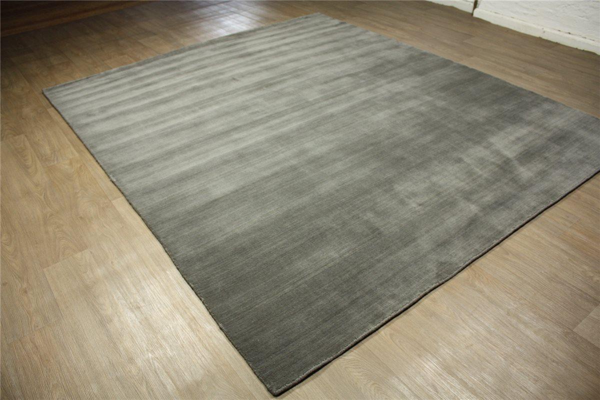 Teppich hellgrau wolle  hochwertiger Teppich Gabbeh Loribaft fein ~ 250x300 cm 100% Wolle ...