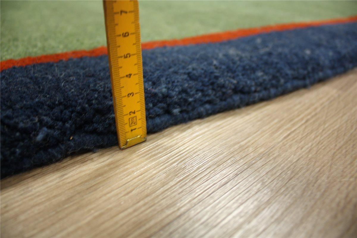 ~ hochwertiger Teppich Gabbeh Brücke ~ 70×140 cm ~ 100%