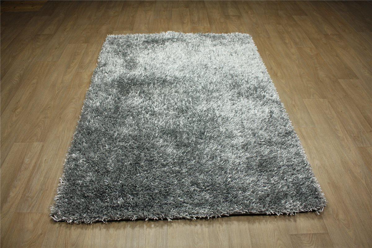 Teppich Shaggy Hochflor Brücke 70×140 cm Langflor 4 Kgm²