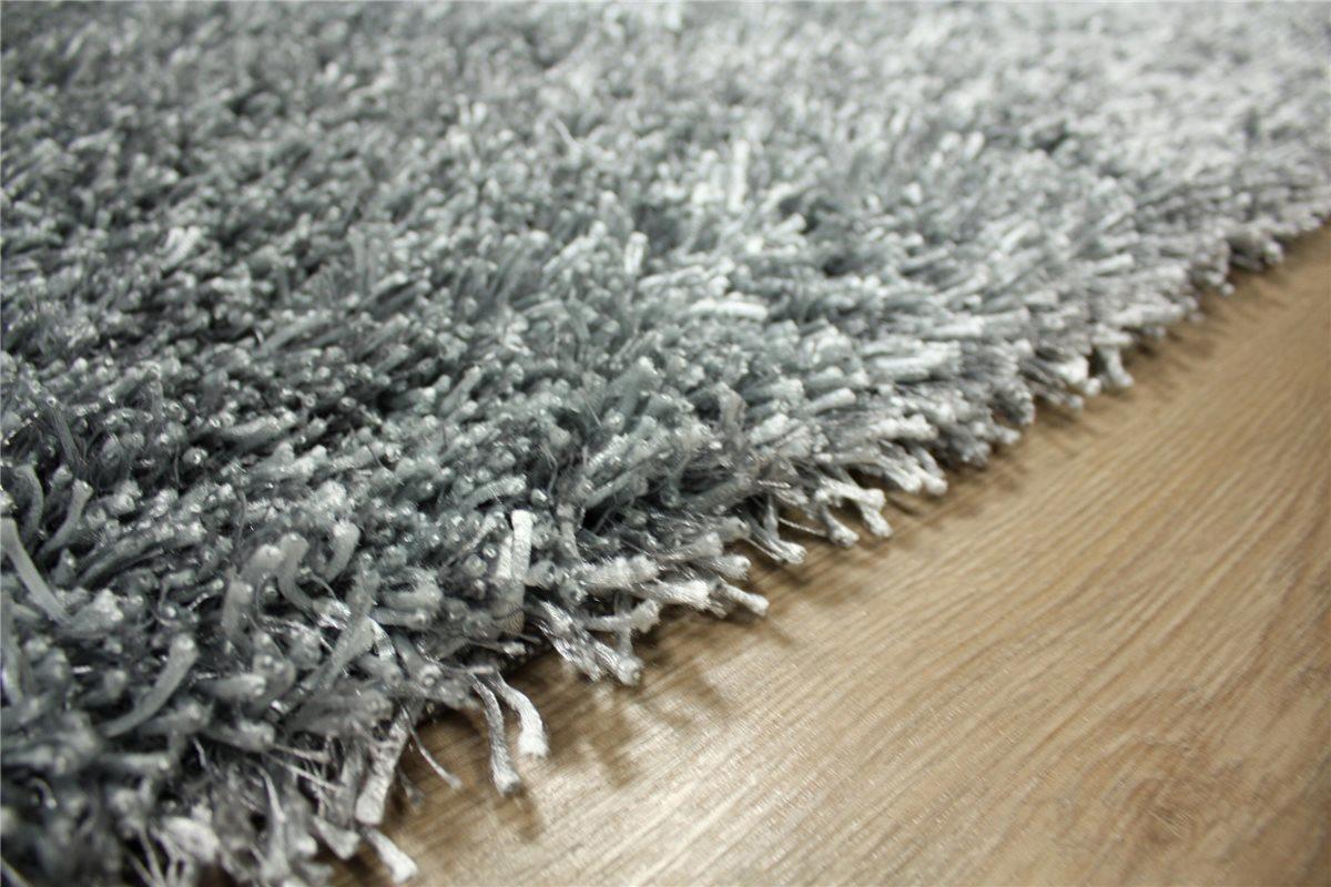 ~ Teppich Shaggy Hochflor ~ 140×200 cm ~ Langflor ~ 4 Kg