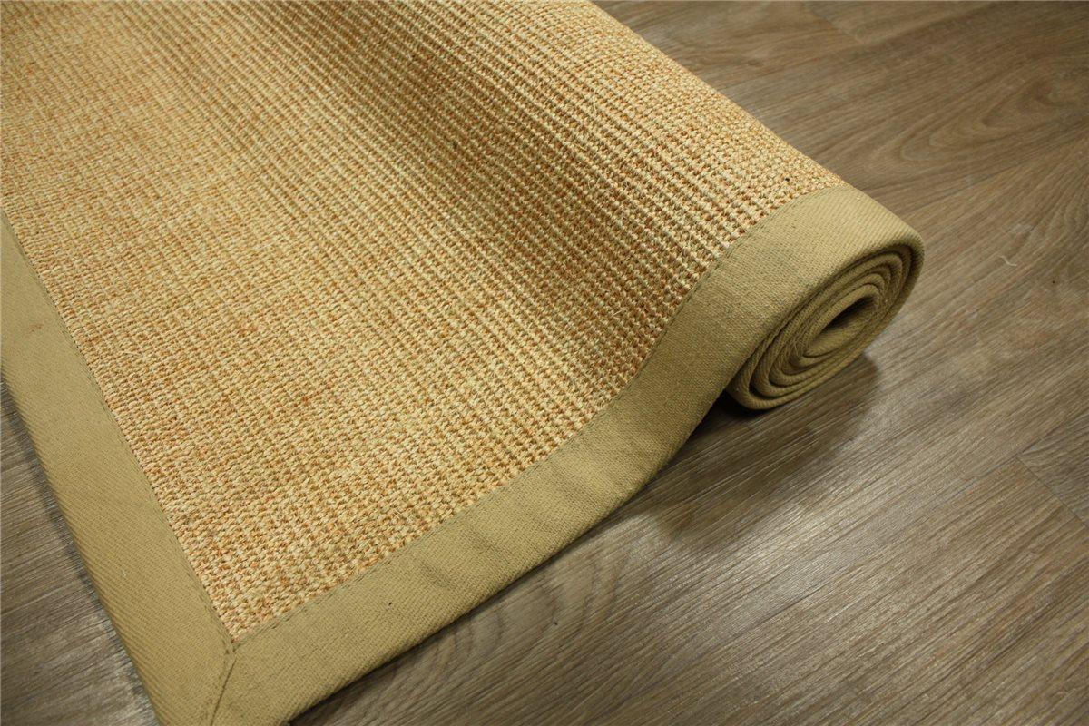 hochwertiger teppich 100 echte sisal 160x220 cm rutschfest beige ebay. Black Bedroom Furniture Sets. Home Design Ideas