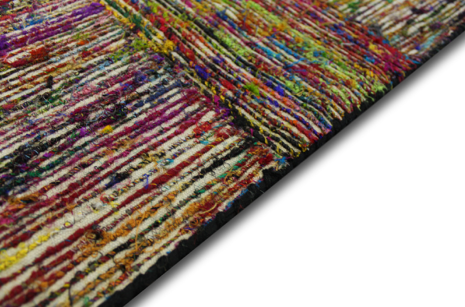 Pregiato tappeto tessitura piatta 160x230 cm tessuto a - Tappeto 160x230 ...