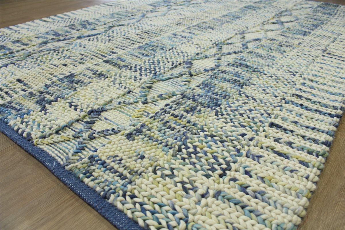 hochwertiger designer Teppich 200×280 cm 100 % Wolle