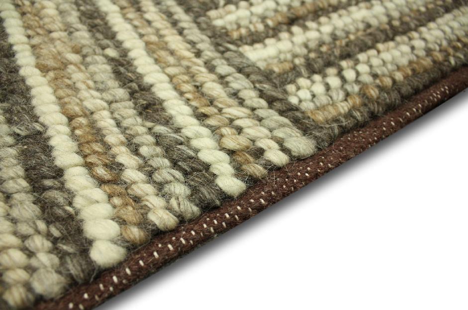 designer Teppich Corbin 240×340 cm 100 % Wolle Handgewebt