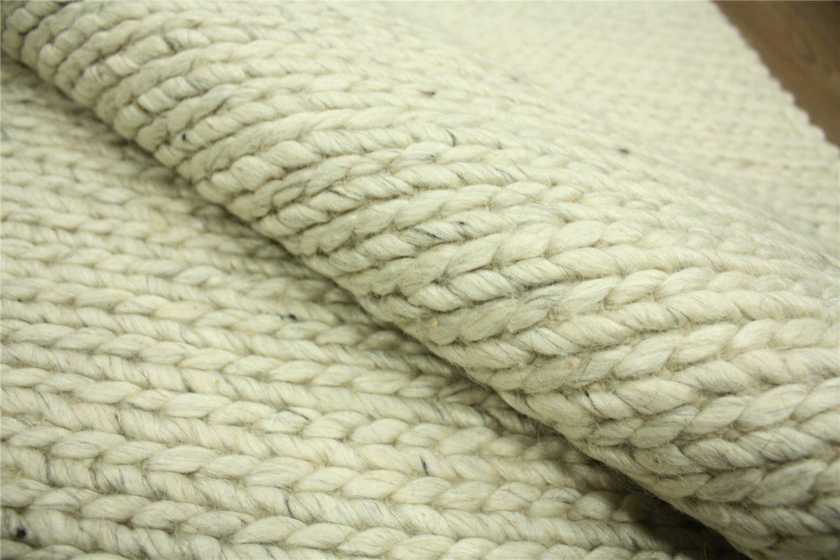 designer teppich solana 200x300 cm 100 wolle handgewebt creme ebay. Black Bedroom Furniture Sets. Home Design Ideas