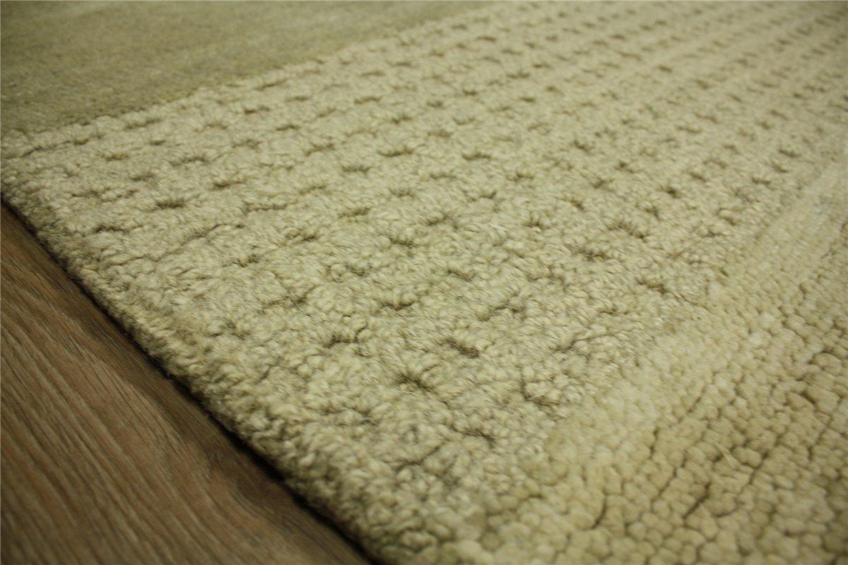 designer Teppich Felix 200x300 cm 80% Wolle 20% Baumwolle ...