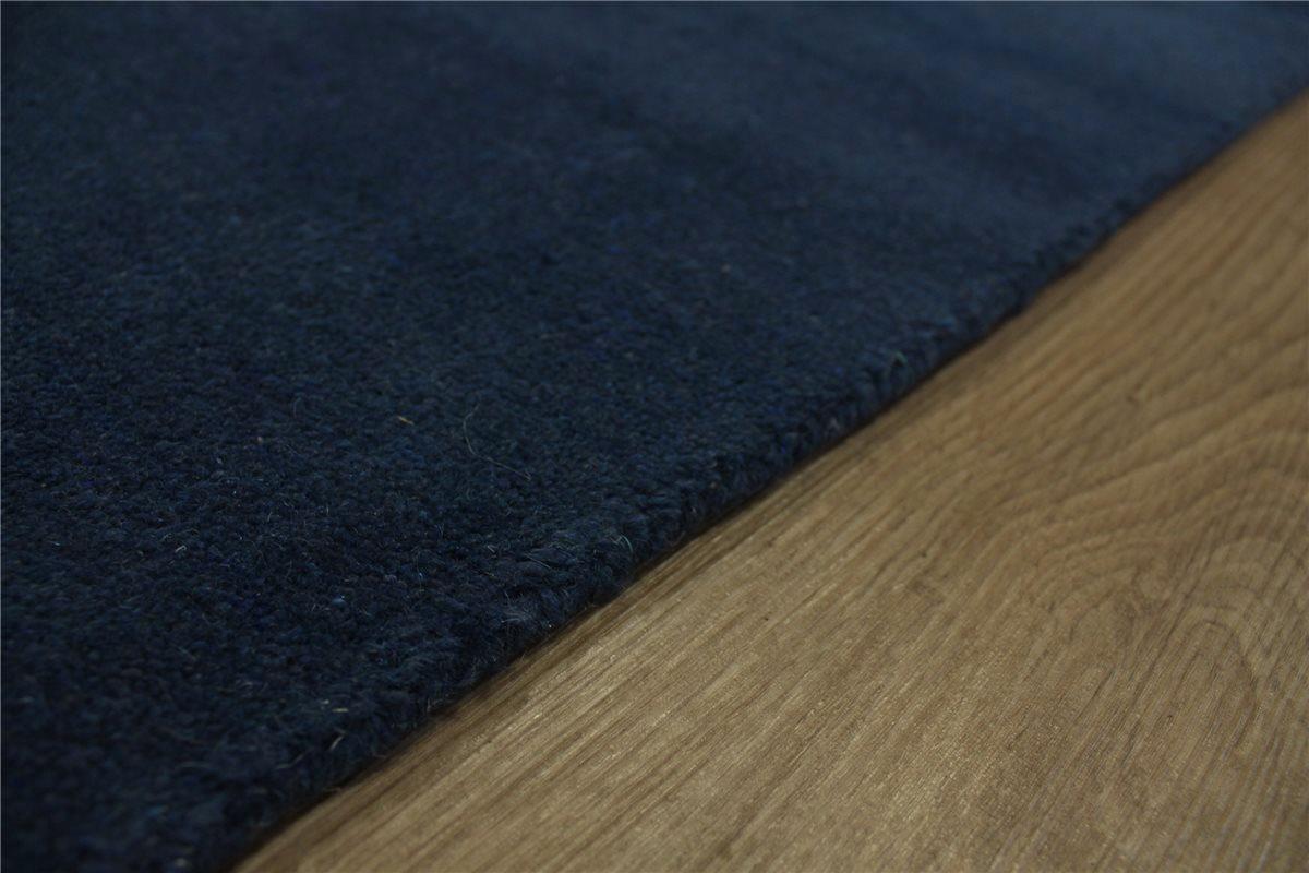 teppich gabbeh 170x240 cm 100 wolle handgewebt blau ebay. Black Bedroom Furniture Sets. Home Design Ideas