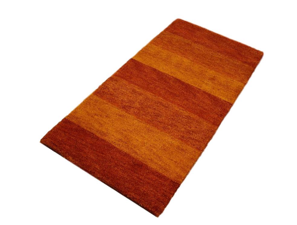 teppich gabbeh br cke twist handgekn pft 70x140 cm 100 wolle terra rot ebay. Black Bedroom Furniture Sets. Home Design Ideas