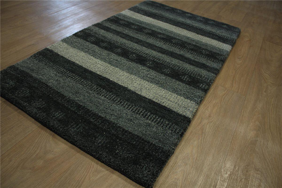 Teppich Gabbeh Brücke Twist Handgeknüpft 75×140 cm 100%
