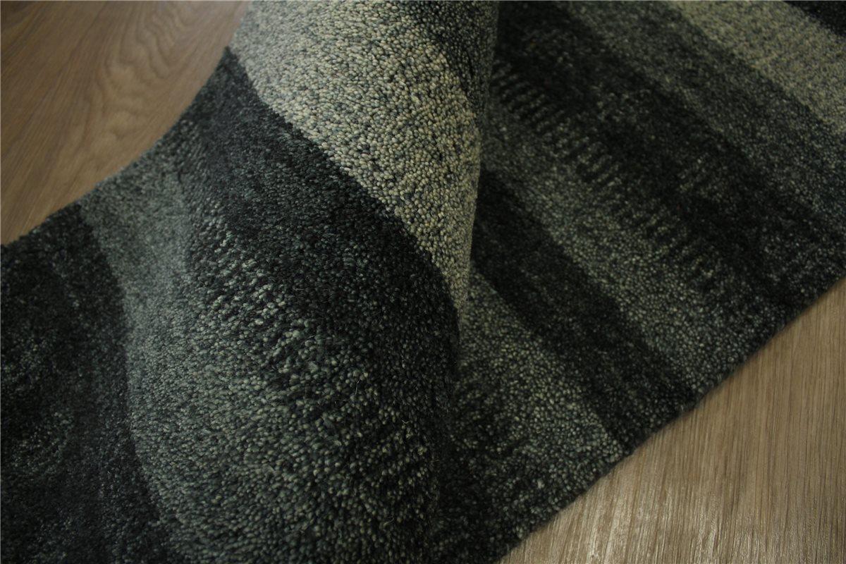 teppich gabbeh br cke twist handgekn pft 75x140 cm 100. Black Bedroom Furniture Sets. Home Design Ideas