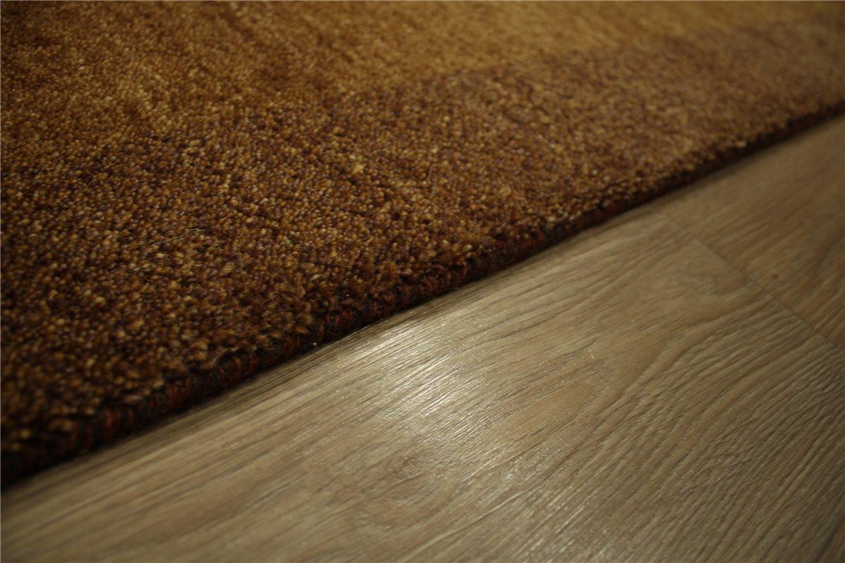 teppich l ufer gabbeh twist handgekn pft 82x355 cm 100 wolle braun meliert ebay. Black Bedroom Furniture Sets. Home Design Ideas