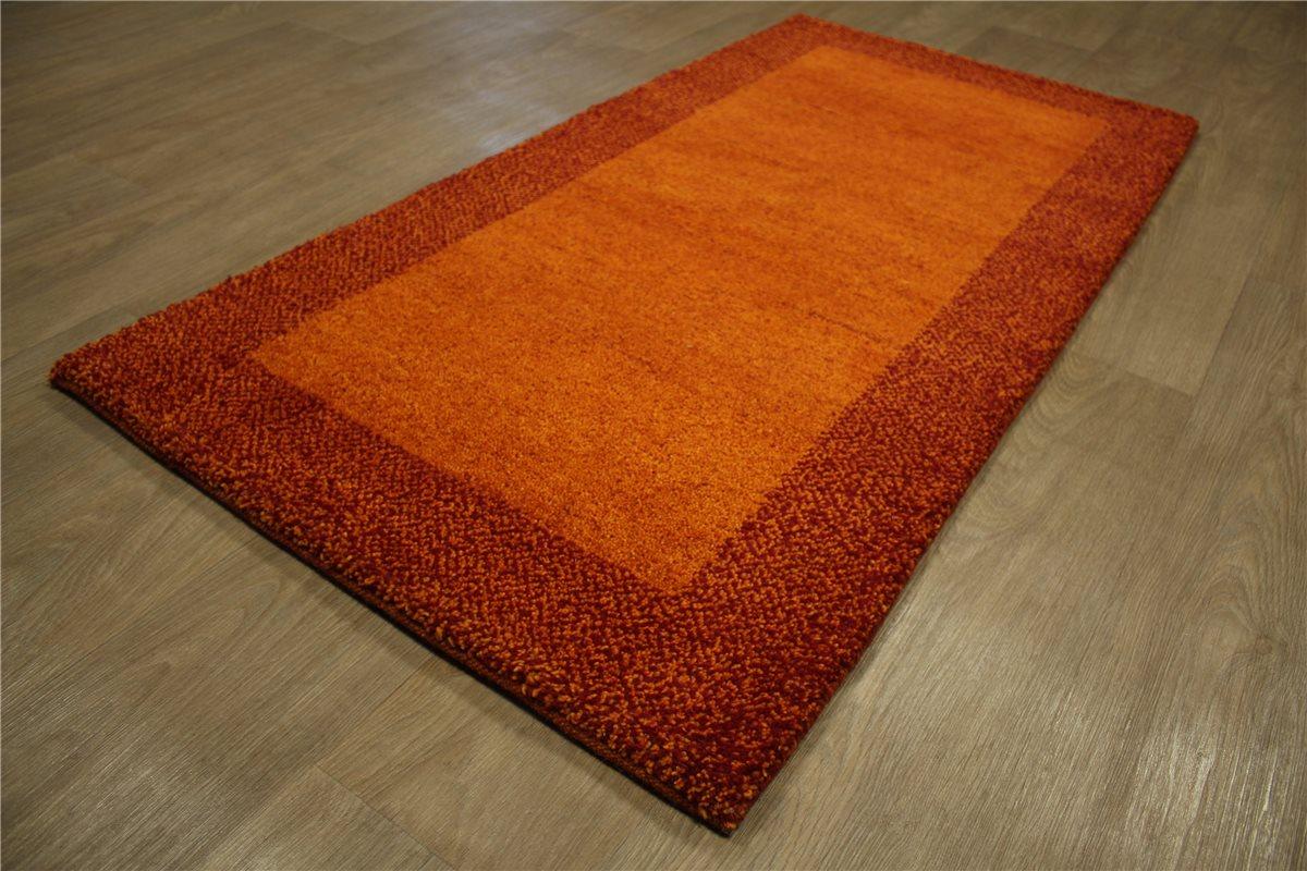 teppich gabbeh br cke mocol handgekn pft 70x140 cm 100 wolle terra rot ebay. Black Bedroom Furniture Sets. Home Design Ideas