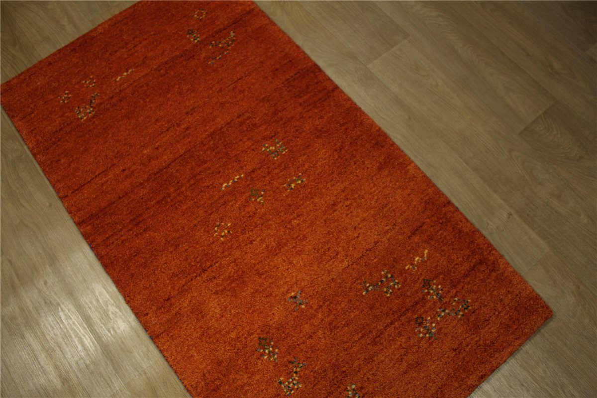 Teppich Gabbeh Mocol Brücke Handgeknüpft 90×160 cm 100%
