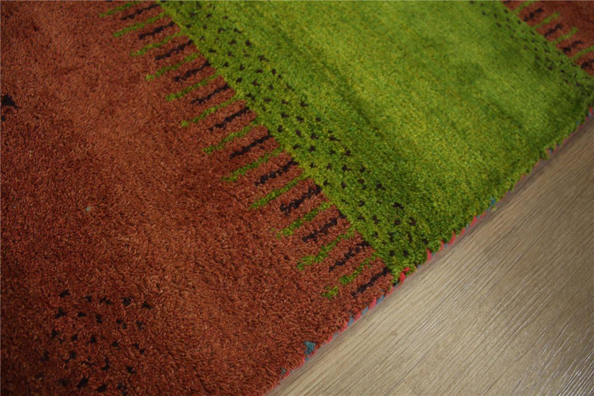 teppich gabbeh handgekn pft 120x180 cm 100 wolle dunkel. Black Bedroom Furniture Sets. Home Design Ideas