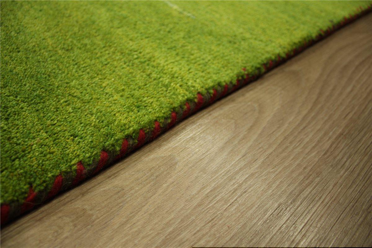 teppich nomaden gabbeh schurwolle handgekn pft 170x240 cm 100 wolle gelb gr n ebay. Black Bedroom Furniture Sets. Home Design Ideas