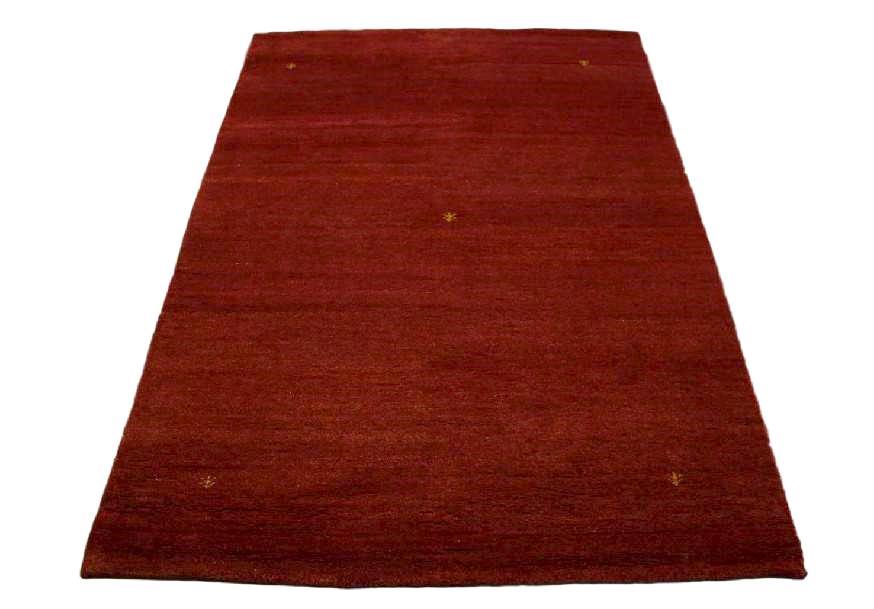 teppich gabbeh handgekn pft schurwolle 170x240 cm 100 wolle gelb rot ebay. Black Bedroom Furniture Sets. Home Design Ideas