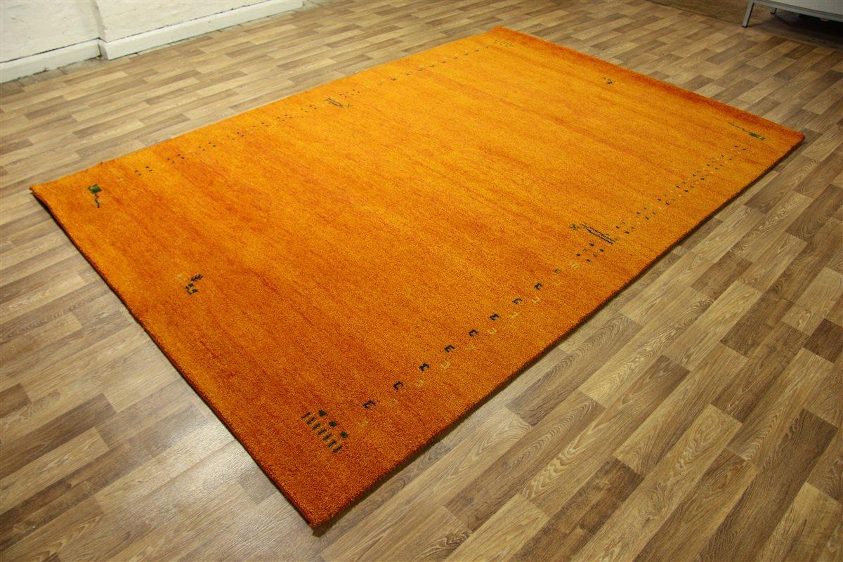 ~ Teppich Gabbeh Modern ~ 300×200 cm ~ 100% Wolle ~ 5 Kg