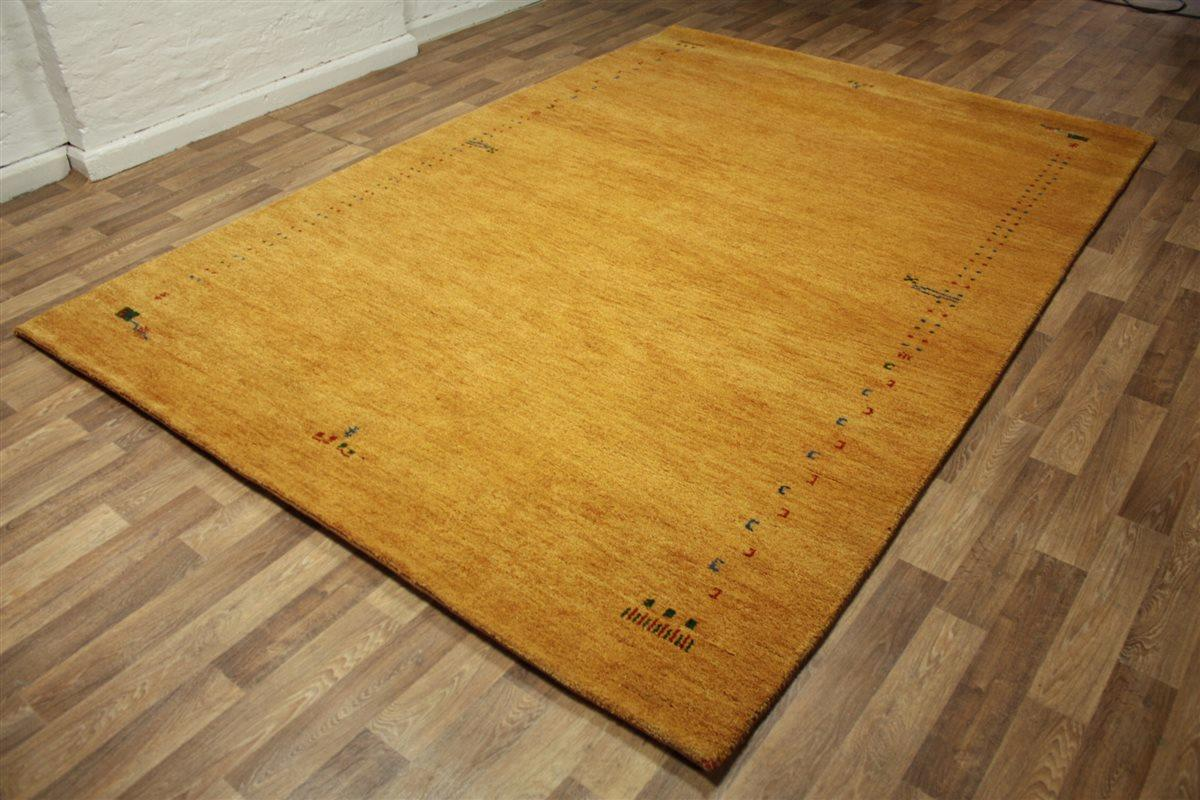 ~ Teppich Gabbeh Modern ~200×300 cm~ 100% Wolle ~ 5 Kg m²