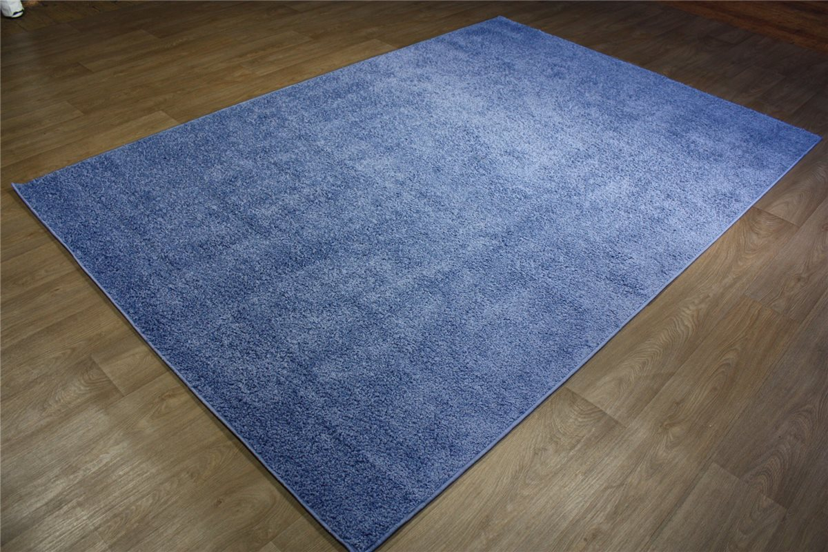 Teppich Lalee Shaggy Hochflor Blau 200×290 CM Rauchblau  eBay