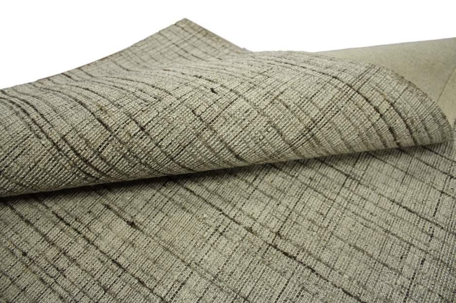 teppich 160x230 cm wolle und viscose handgetuftet silber. Black Bedroom Furniture Sets. Home Design Ideas