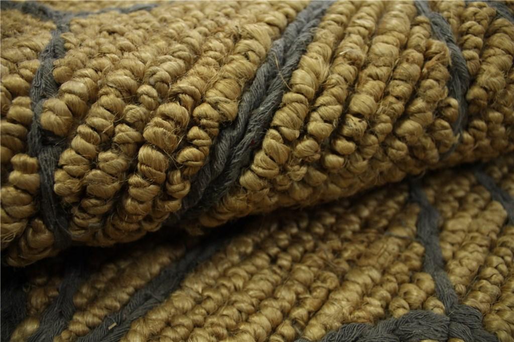 designer rug teppich 160x230 cm 85 jute 15 baumwolle. Black Bedroom Furniture Sets. Home Design Ideas