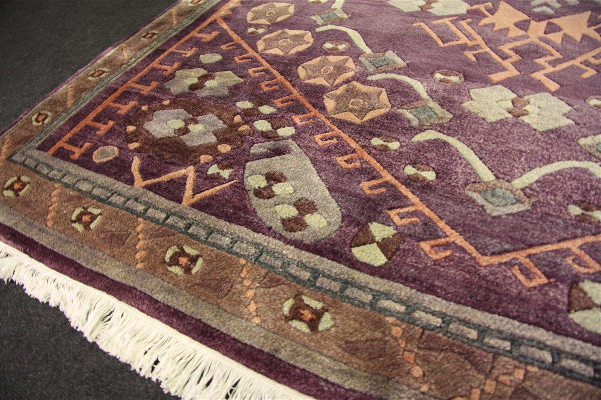 Teppich Nepal Original Tibet 202×237 cm reine Tibet Wolle