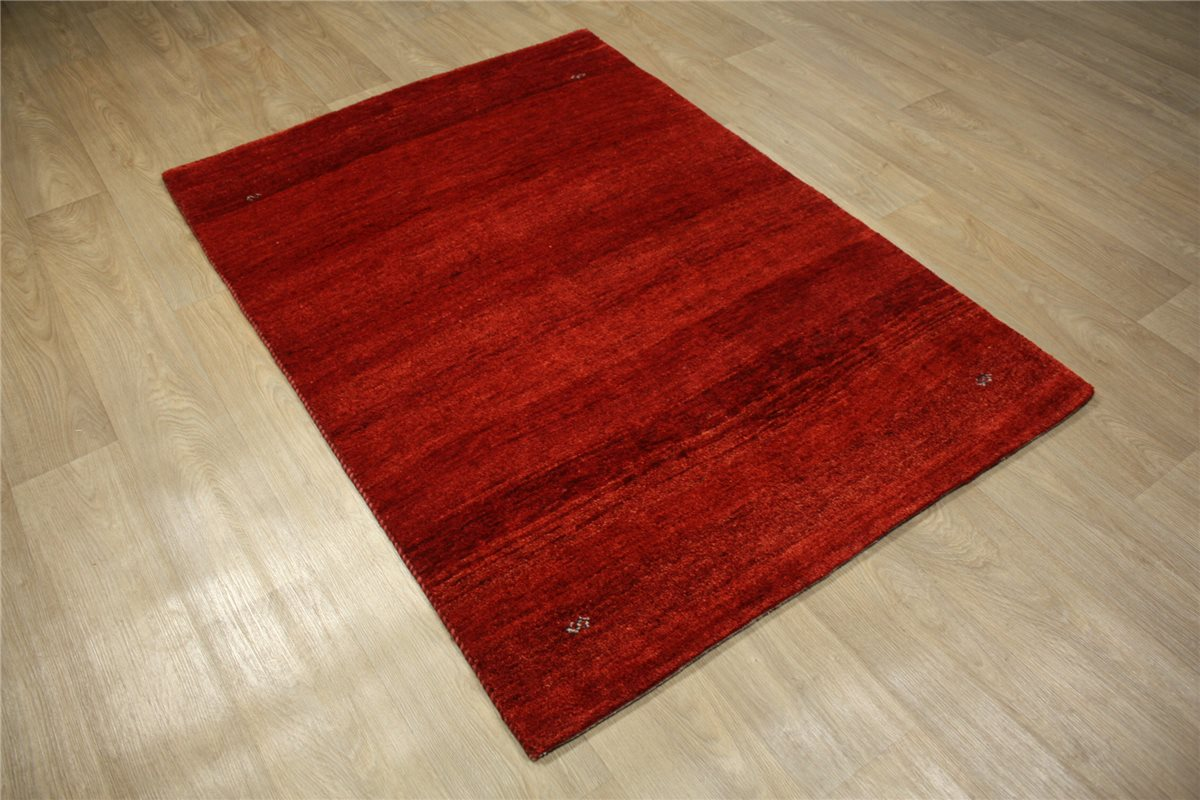 persan tapis gabbeh 176x123 cm nou la main 100 laine rouge ebay. Black Bedroom Furniture Sets. Home Design Ideas