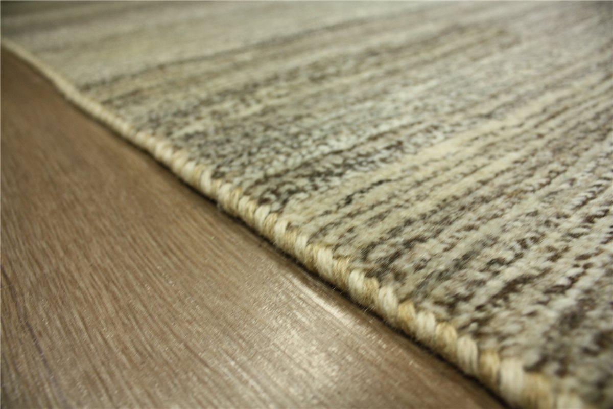 perser teppich gabbeh l ufer 187x81 cm handgekn pft 100 wolle br unlic ebay. Black Bedroom Furniture Sets. Home Design Ideas