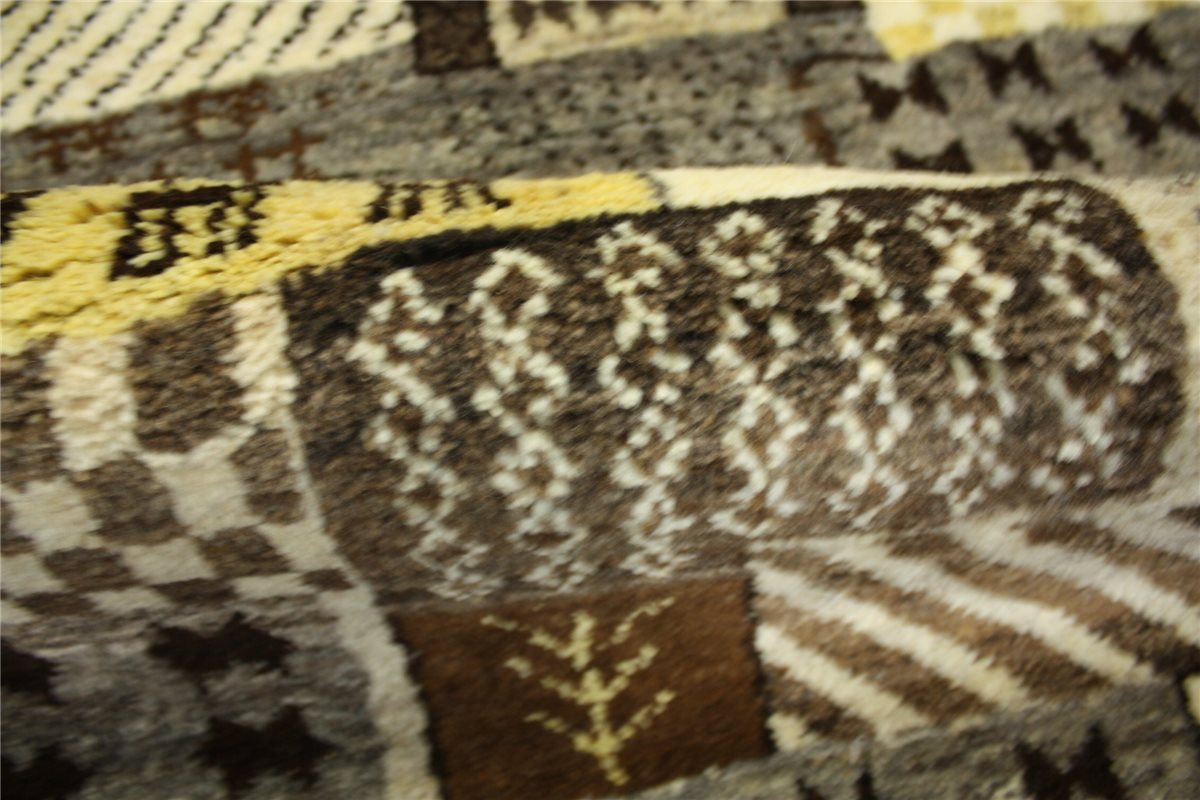 perser teppich gabbeh br cke 158x92 cm handgekn pft 100. Black Bedroom Furniture Sets. Home Design Ideas