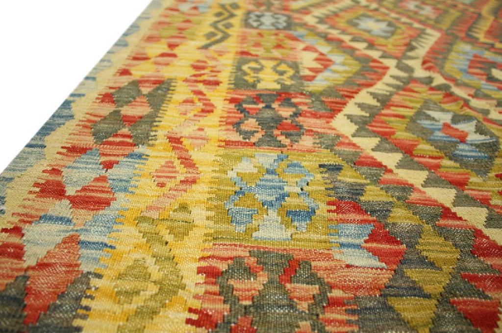 teppich nomaden kelim afghan kilim old style 209x296 cm 100 wolle handgewebt ebay. Black Bedroom Furniture Sets. Home Design Ideas
